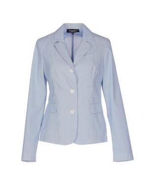 Пиджак ADELE FADO. Цвет: небесно-голубой