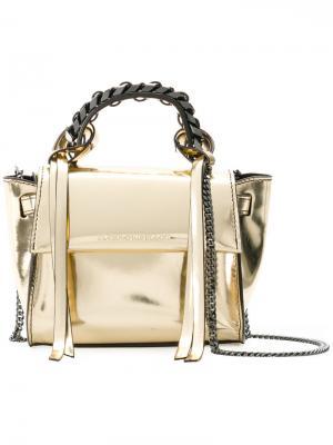 Micro Angel bag Elena Ghisellini. Цвет: телесный