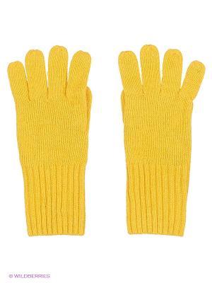 Перчатки Gulliver. Цвет: желтый