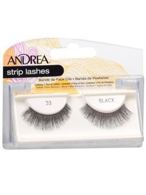 Andrea 23310 Mod Strip Lashes 33 Накладные ресницы Andrea.. Цвет: черный