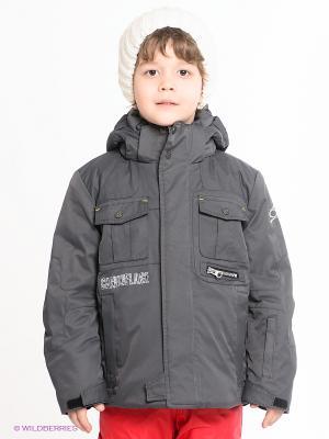 Куртка CACAO. Цвет: темно-серый
