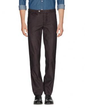 Повседневные брюки PIATTO. Цвет: баклажанный