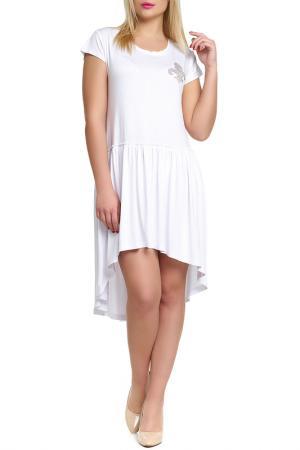 Платье Majaly. Цвет: белый