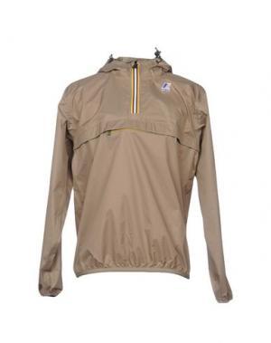 Куртка K-WAY. Цвет: хаки