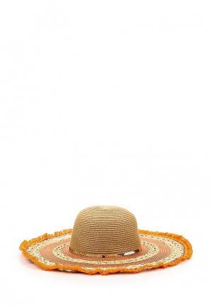 Шляпа Piazza Italia. Цвет: оранжевый