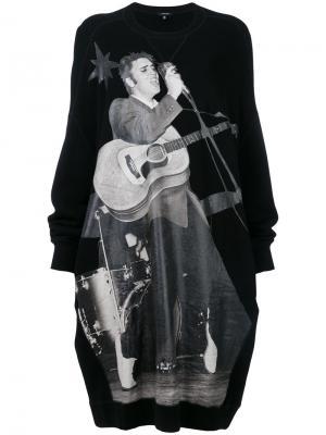 Платье Elvis grunge R13. Цвет: чёрный