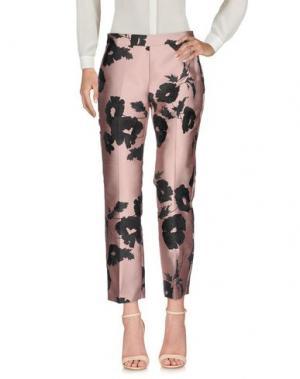Повседневные брюки KI6? WHO ARE YOU?. Цвет: пастельно-розовый