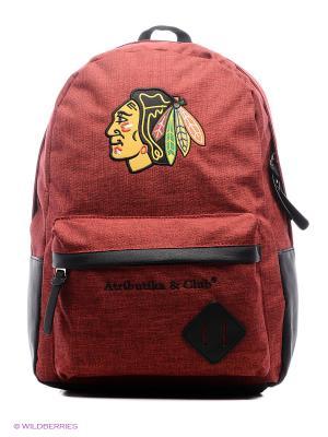 Рюкзак NHL Blackhawks Atributika & Club. Цвет: красный