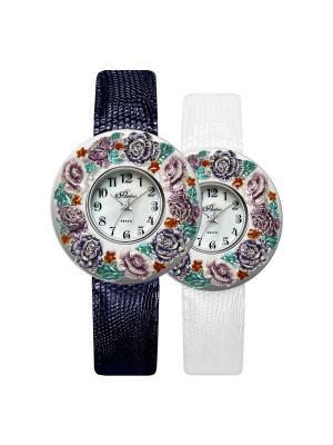 Часы Mikhail Moskvin. Цвет: светло-зеленый, серебристый, фиолетовый