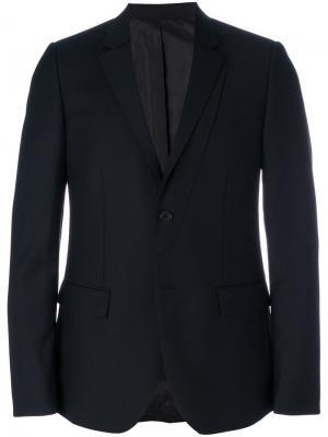 Пиджак с двойными лацканами Wooyoungmi. Цвет: синий