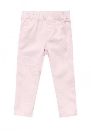 Джеггинсы Gap. Цвет: розовый