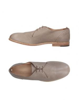 Обувь на шнурках ERNESTO DOLANI. Цвет: светло-серый