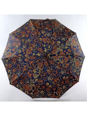 Зонт Zest. Цвет: синий, желтый, оранжевый