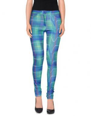 Повседневные брюки TEE-TREND. Цвет: ярко-синий