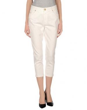Повседневные брюки MARANI JEANS. Цвет: белый