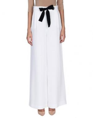 Повседневные брюки ANNIE P.. Цвет: белый