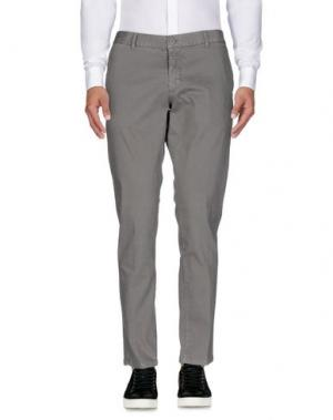 Повседневные брюки HERMAN & SONS. Цвет: серый