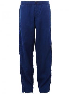 Свободные брюки Blue Japan. Цвет: синий