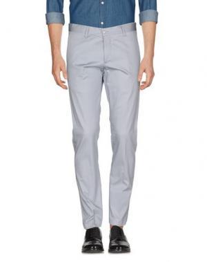Повседневные брюки SSEINSE. Цвет: светло-серый