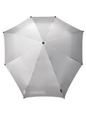Зонт-автомат senz shiny silver. Цвет: серебристый
