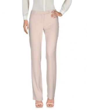 Повседневные брюки CRISTINAEFFE. Цвет: светло-розовый