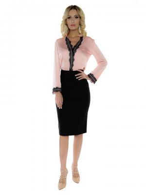 Блуза ZAYKINS. Цвет: розовый