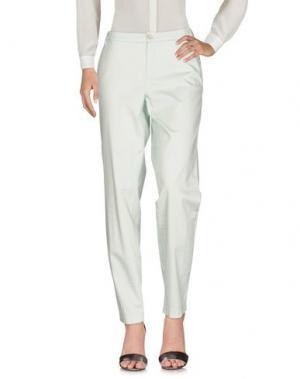 Повседневные брюки THOMAS RATH. Цвет: светло-зеленый