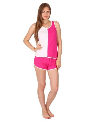 Пижама Flip. Цвет: розовый, кремовый