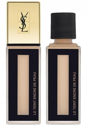 Тональный крем Le Teint Encre De Peau, оттенок Beige Rose 20 YSL. Цвет: бесцветный