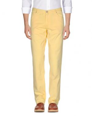 Повседневные брюки BROOKSFIELD ROYAL BLUE. Цвет: желтый