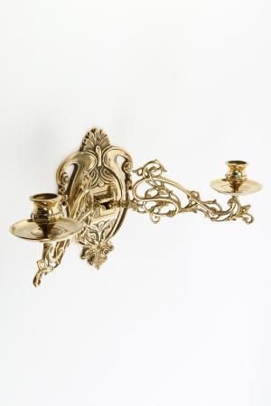 Канделябр настенный Stilars. Цвет: золотой