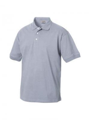 Texas Bull футболка-поло Clique. Цвет: серый меланж