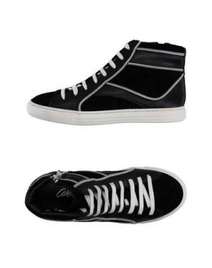 Высокие кеды и кроссовки CARLA G.. Цвет: черный