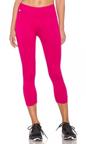 Капри core NUX. Цвет: розовый