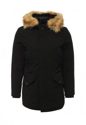Куртка утепленная Young & Rich. Цвет: черный