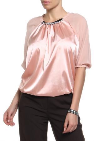 Блуза Frankie Morello. Цвет: розовый