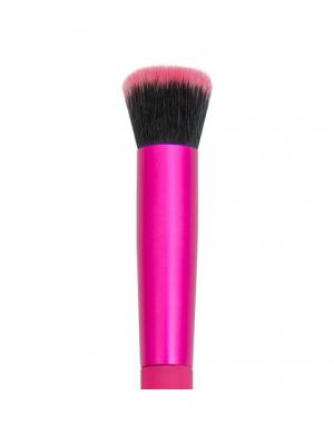 Royal&langnickel MODA FLAT CONCEALER. Плоская кисть для консилера. Цвет: розовый