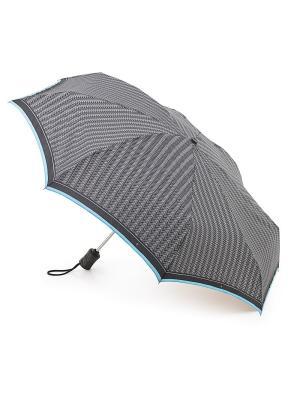 Зонт мужской автомат Fulton. Цвет: серый