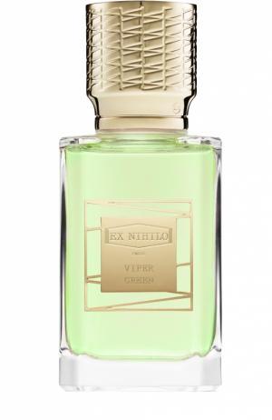 Парфюмерная вода Viper Green Ex Nihilo. Цвет: бесцветный