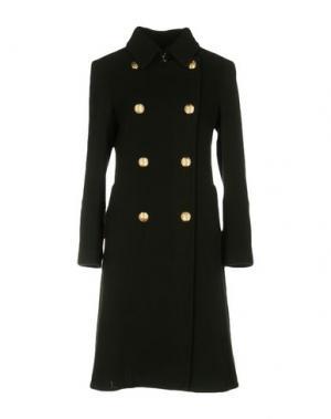 Пальто TENAX. Цвет: зеленый
