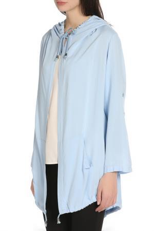 Куртка-бомбер BGN. Цвет: голубой