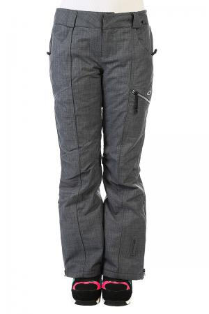 Штаны сноубордические женские  Gb Insulated Pants Ombre Blue Oakley. Цвет: серый
