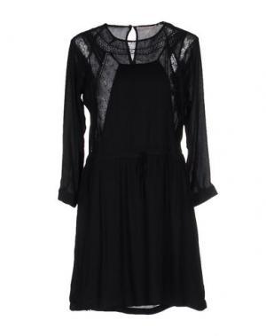 Короткое платье PAUL & JOE SISTER. Цвет: черный
