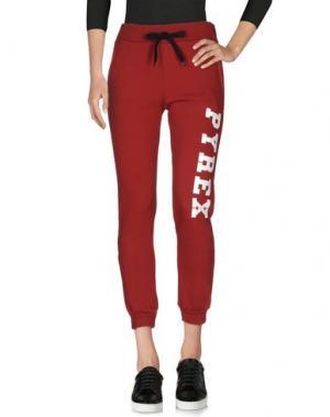 Повседневные брюки PYREX. Цвет: кирпично-красный