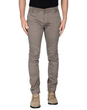 Повседневные брюки X-CAPE. Цвет: хаки