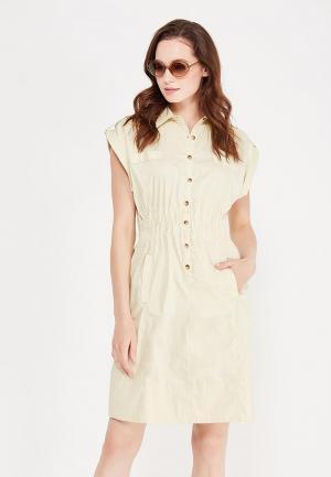 Платье Relax Mode. Цвет: бежевый