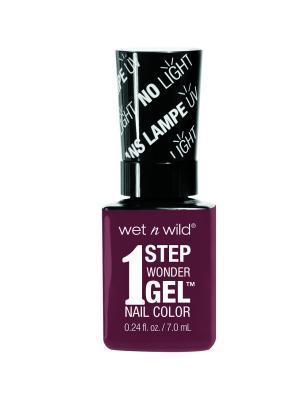 Гель-лак для ногтей 1 Step Wonder Gel E7331 left marooned Wet n Wild. Цвет: темно-коричневый