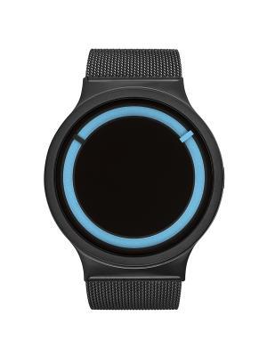 Наручные часы Ziiiro Eclipse Metalic Black Ocean. Цвет: черный, голубой