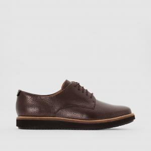 Ботинки-дерби кожаные, GLICK DARBY CLARKS. Цвет: бронзовый