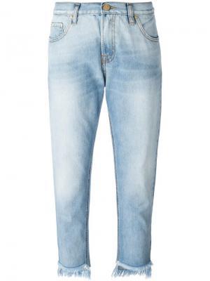 Укороченные джинсы  Dont Cry Don't. Цвет: синий